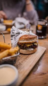 Cheeseburger Hamburger Sandwich #425598