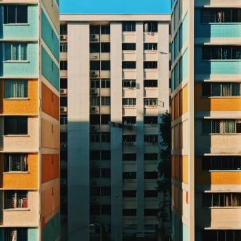 Concrete Buildings Free Photo