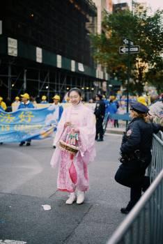 Pedestrian Kimono People #425851