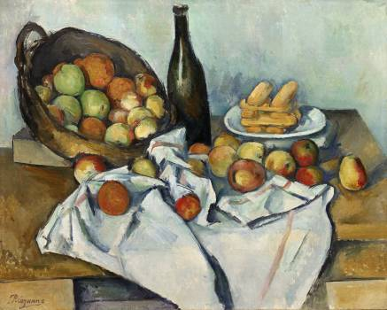 The Basket of Apples (ca. 1893) by Paul Cézanne. Original from The Art Institute of Chicago.  Free Photo