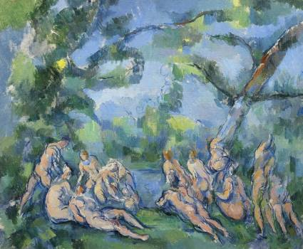 The Bathers (ca. 1899–1904) by Paul Cézanne. Original from The Art Institute of Chicago.  #426011