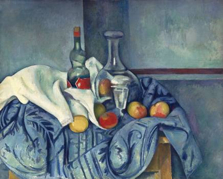 The Peppermint Bottle (ca. 1893–1895) by Paul Cézanne. Original from The National Gallery of Art.  #426014
