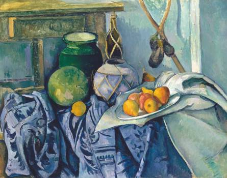 Still Life with Apples (ca. 1893–1894) by Paul Cézanne. Original from The Art Institute of Chicago.  #426026
