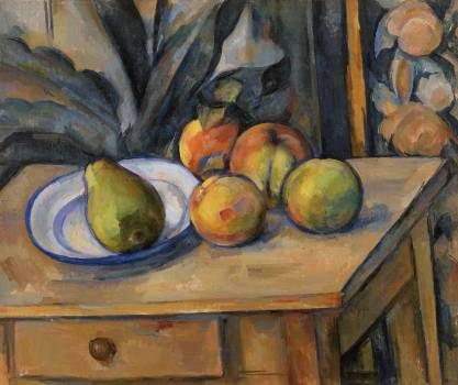 The Large Pear (La Grosse poire) (ca. 1895–1898) by Paul Cézanne. Original from Original from Barnes Foundation.  #426030