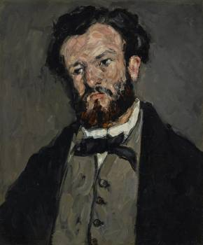 Portrait of Anthony Valabrègue (ca. 1869–1871) by Paul Cézanne. Original from The Getty.  #426031