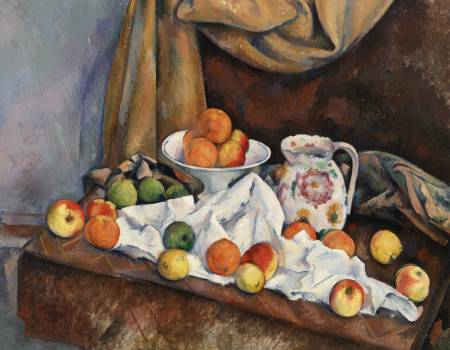 Still Life (Nature morte) (ca. 1892–1894) by Paul Cézanne. Original from Original from Barnes Foundation.  Free Photo