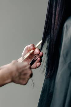 Hands On Hair Free Photo