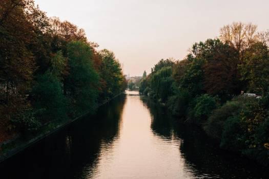 Mirroring Canal Free Photo