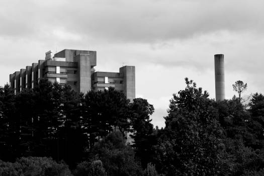 City Cooling tower Skyline Free Photo