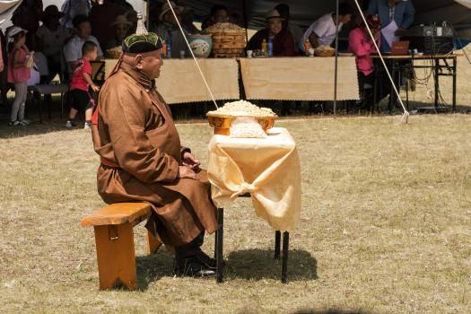 Mongolian Man in Traditional Coat - Free Image For Commercial Use Free Photo