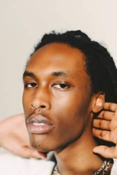 Afro Face Portrait Free Photo