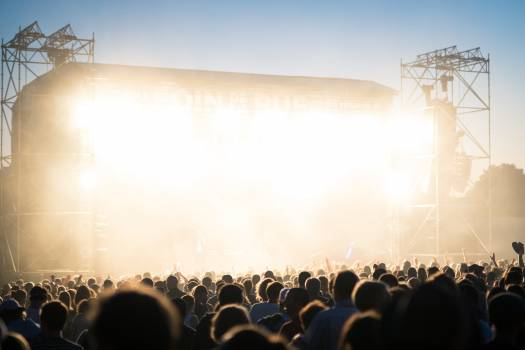 Stage Platform Silhouette #426475