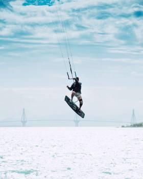Ski Ski tow T-bar lift #426497