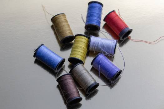 Sewing Thread Spools Free Photo #426516