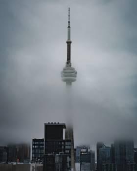 Lightning rod Tower Device Free Photo