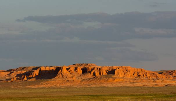 Flaming Cliffs – Bayanzag - Free Image For Commercial Use Free Photo