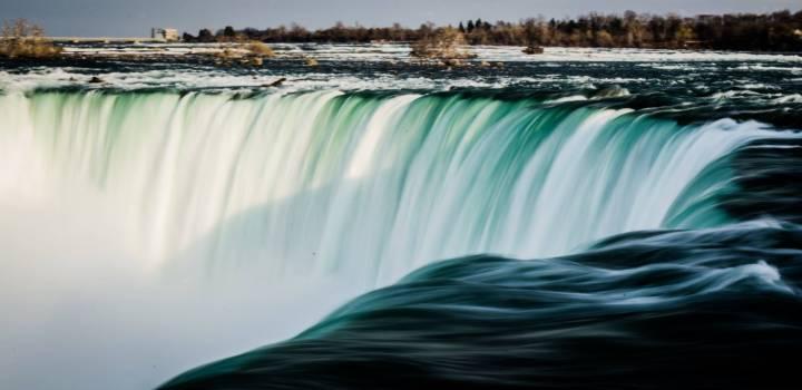 Green White Waterfall during Daytime #42780