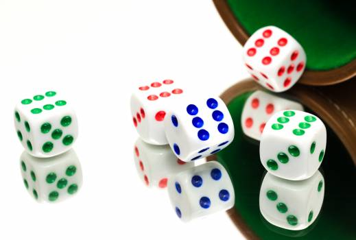 Game dice gamble Free Photo