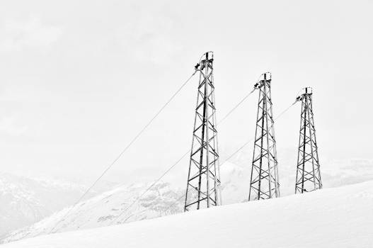 Grey Metal Tower #42961