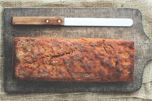 Bake Pastry Near Bread Knife Free Photo