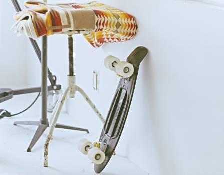 Sport white rolls skateboard #43144