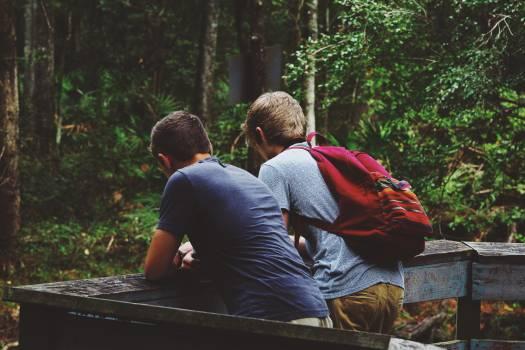 Break hiker hiking nature Free Photo