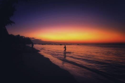 Horizon water beach seaside #43390