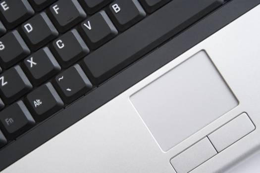 Black Laptop Keyboard Free Photo