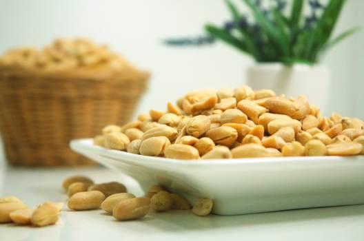 Food plate nuts peanuts #43505