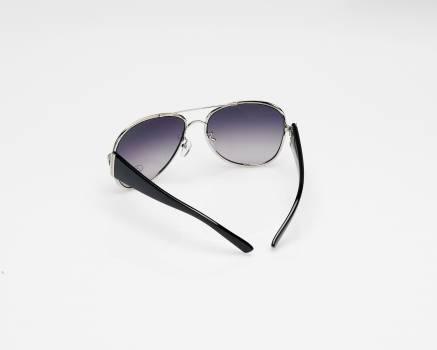 Black Grey Framed Aviator Style Sunglasses Free Photo