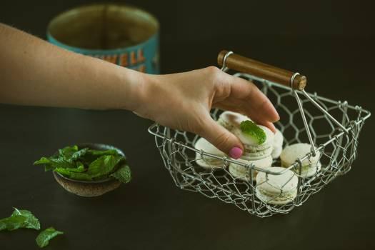 Human Hand Holding Food #43752