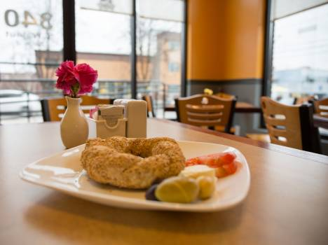 Doughnut breakfast food restaurant #44258