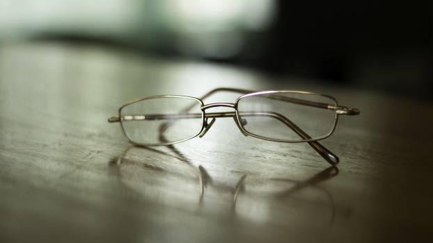 Glasses close up blur nostalgic Free Photo