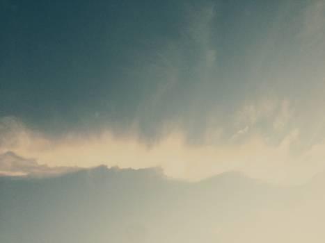 Sky clouds sun #44735
