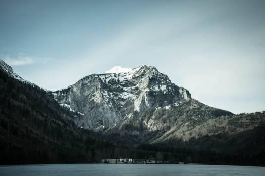 Snow landscape mountains nature #44740