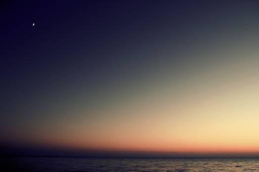 Sea sky sunset ocean #45030