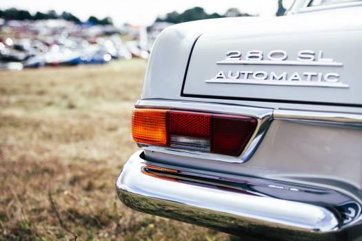 White Mercedes Benz 280 Sl Automatic #45047