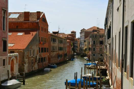 Boats summer italy canal #45159