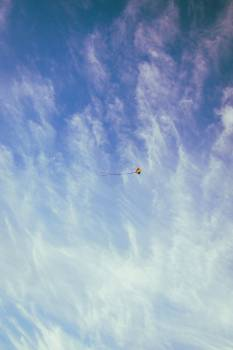 Red Yellow and Blue Kite on the Sky #45692