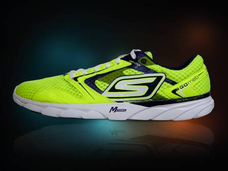 Sketchers Green and Black Shoe #45892