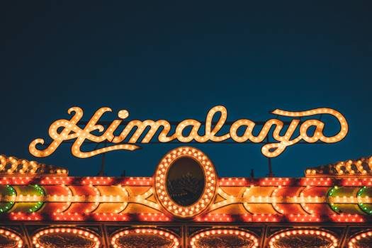Lights billboard casino himalayas #46623