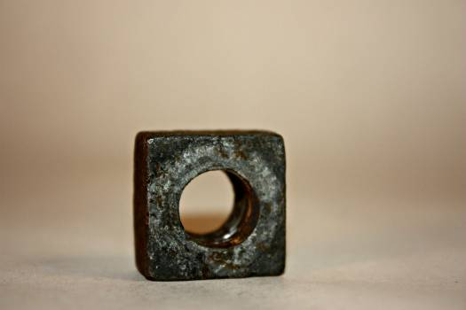Brass Square Ring #47034