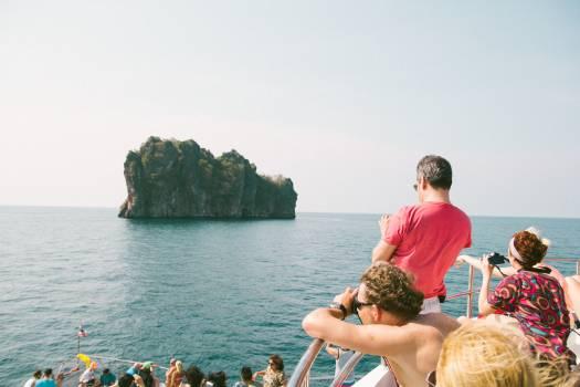 People Looking at Sea #47153