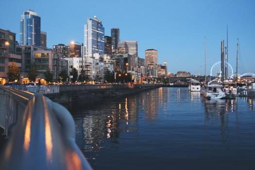 City river boats skyline #47476