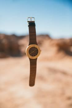 Brown Strap Analog Watch #47664