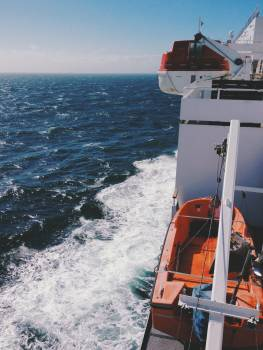 Lifeboat boat vessel ocean #47847
