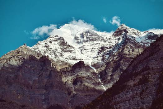 Snow Covered Mountain during Daytime #48001