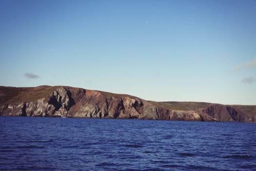 Cliffs shore seaside ocean #49680
