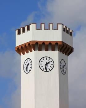 Clock Tower at 1:30 #49888