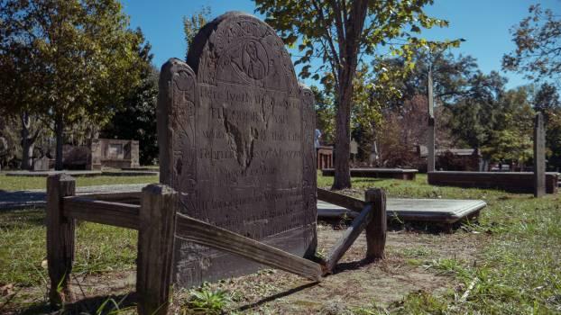 Georgia grave graveyard low angle Free Photo